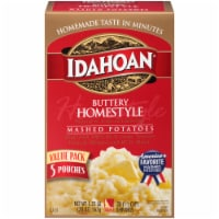 Idahoan Buttery Homestlye Mashed Potatoes 5 Count
