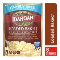 Idahoan Loaded Baked Mashed Potatoes Family Size