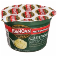 Idahoan Roasted Garlic Mashed Potato Microwavable Cup