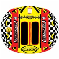 Airhead SPORTSSTUFF Half Pipe Rampage Inflatable Double Rider Towable | 53-2155 - 1 Unit