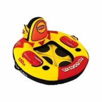 Sportsstuff Trek N Tube Inflatable Water Tube with Cooler, Cupholder, & Pockets - 1 Unit