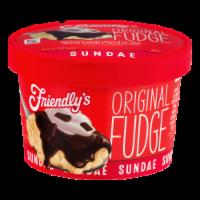 Friendly's Original Fudge Sundae Cup
