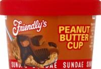 Friendly's Peanut Butter Cup Sundae