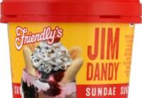 Friendly's Jim Dandy Sundae Cup