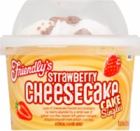 Friendly's Strawberry Cheesecake Cake Singles