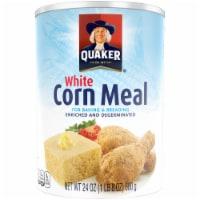 Quaker White Corn Meal Flour For Baking - 24 oz