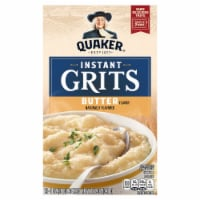 Quaker Instant Grits Butter Flavored Breakfast 12 Count