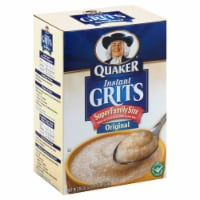 Quaker Instant Grits Original, 36 Ounce -- 8 per case - 8-36 OUNCE