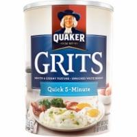 Quaker Quick 5-Minute White Hominy Grits - 24 oz