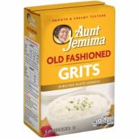 Quaker Grits, Aunt Jemima Old Fashioned, 5 Pound -- 8 per case. - 8-5 POUND
