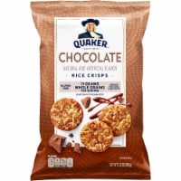 Quaker Rice Cakes Chocolate Popped Snacks