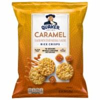 Quaker Rice Cakes Caramel Corn Flavor Snacks Big Bag