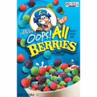 Cap'N Crunch Breakfast Cereal Oops All Berries Flavor Corn & Oat Cereal