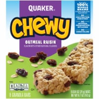 Quaker Chewy Oatmeal Raisin Granola Bars