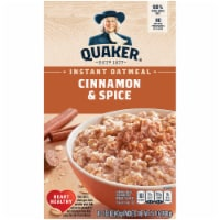 Quaker Instant Oatmeal Breakfast Cereal Cinnamon & Spice 10 Count - 10 ct / 1.51 oz
