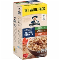 Quaker Instant Oatmeal Breakfast Cereal Flavor Variety Pack 10 Count