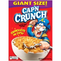 Cap'N Crunch Breakfast Cereal Original Flavor Corn & Oat Cereal
