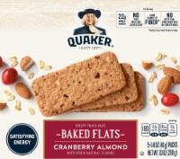 Quaker Breakfast Flats Cranberry Almond Crispy Snack Bars
