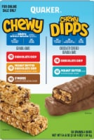 Quaker Chewy Granola Bars & Chewy Dipps Variety Pack