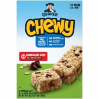 Quaker Chewy Chocolate Chip Granola Bars 58 Count