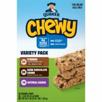 Quaker Chewy Granola Bars Variety Pack - 58 ct / 0.84 oz