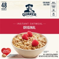 Quaker Original Instant Oatmeal 48 Count