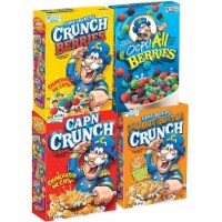 Cap'N Crunch Variety Pack - 4 ct
