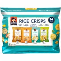 Quaker Rice Crisps Variety Pack Gluten Free Snacks