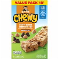 Quaker Peanut Butter Chocolate Chip Chewy Granola Bars