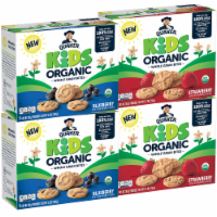Quaker Kids Organic Strawberry & Blueberry Flavored Whole Grain Bites