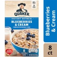 Quaker Blueberries & Cream Instant Oatmeal - 8 ct / 1.05 oz