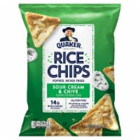 Quaker Sour Cream & Chives Rice Chips