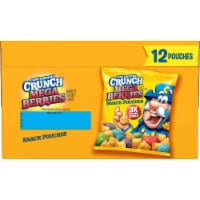 Cap'N Crunch's Crunch Mega Berries Sweetened Corn & Oat Snack Pouches