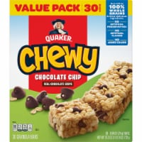 Quaker® Chewy Chocolate Chip Granola Bars Value Pack - 30 ct / 0.84 oz