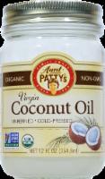 Aunt Pattys Extra Virgin Coconut Oil