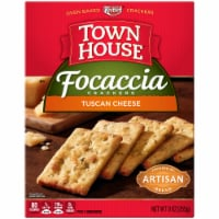 Town House Focaccia Crackers Tuscan Cheese