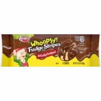 Keebler Whoopsy Fudge Stripes Cookies 2.32 oz. Bagged - Case Of: 12; - 1