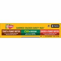 Keebler Snacks Variety Pack Sandwich Crackers - 8 ct / 1.38 oz