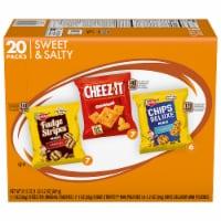 Keebler Mini Chips Deluxe Cheez-It Mini Fudge Stripe Variety Pack