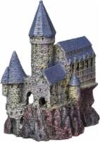 Penn-Plax Magical Castle Aquarium Decor Ornament, Medium - 1 each