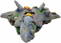 Penn-Plax Deco-Wrecks Large Aquarium Decorations Fighter Jet - 1 each