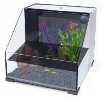 Penn-Plax AquaTerrium Fish Tank 2 Chambers, 1 Biological Ecosystem - 1 each