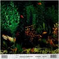Penn-Plax Aquarama/Shalescape Plant Aquarium Background Decor - 1 each