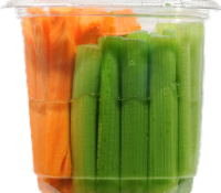 Celery and Carrot Sticks