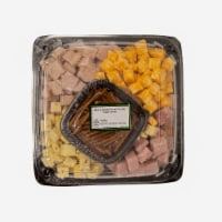 Taylor Farms Cubed Meat Cheese Tray - 42.5 oz