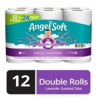 Angel Soft Fresh Lavender Scent Double Roll Bath Tissue - 12 rolls