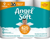 Angel Soft Mega Roll Unscented Bathroom Tissue
