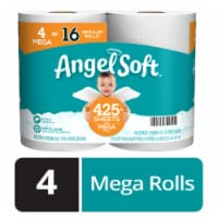 Angel Soft Mega Rolls Toilet Paper - 4 rolls