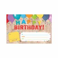Creative Teaching Press CTP2518 Happy Birthday Award Upcycle Style