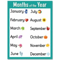 Months of the Year Chart - 1